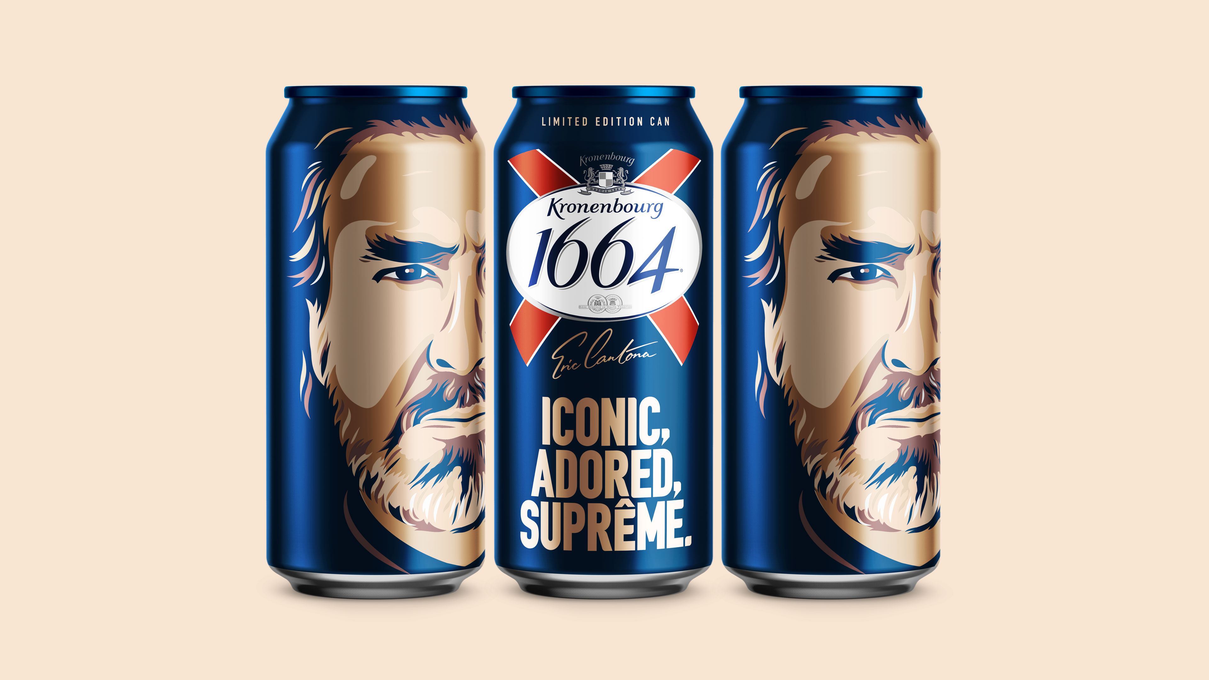 Kronenbourg Cantona Can Design