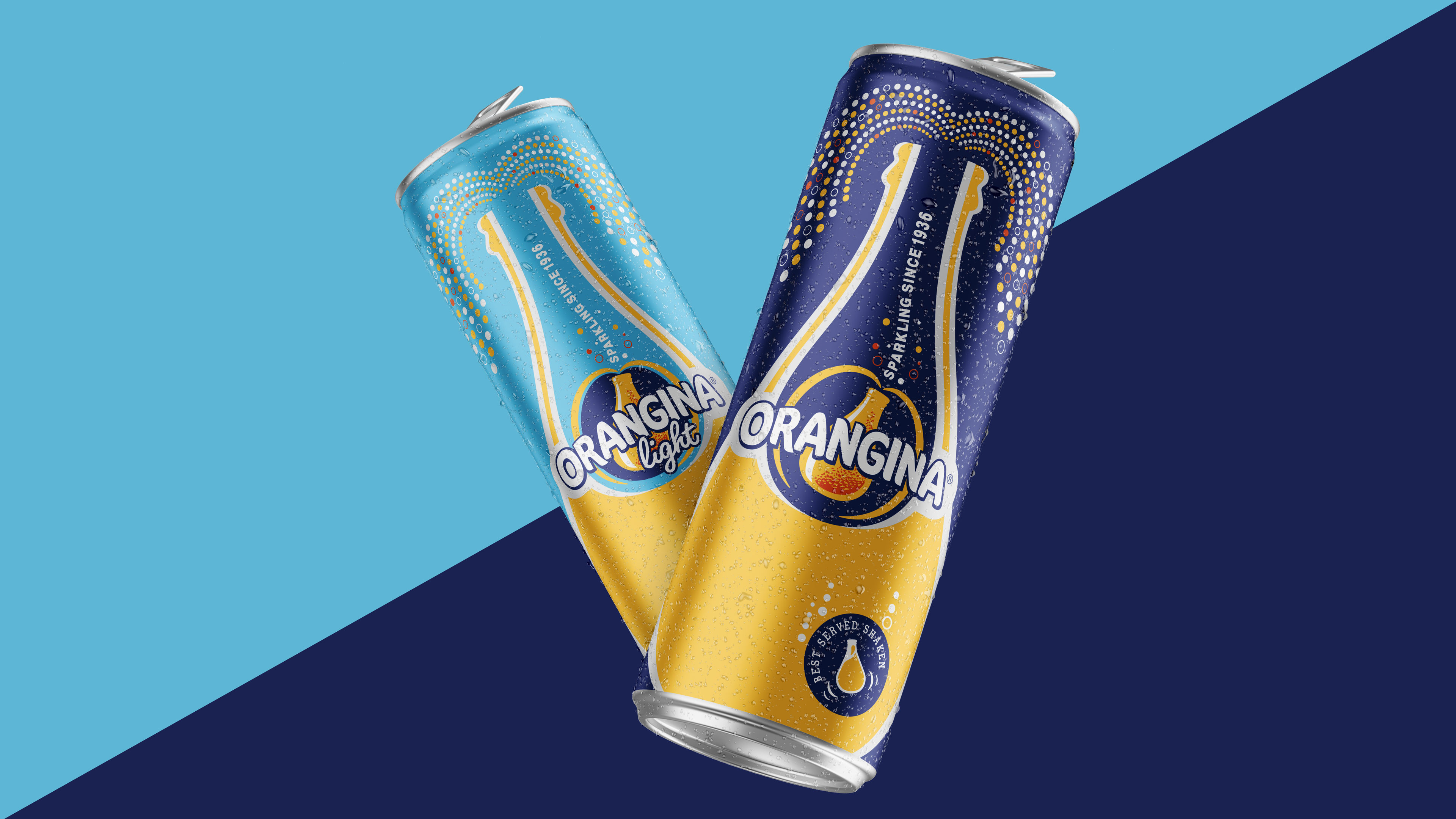 Orangina Can Design