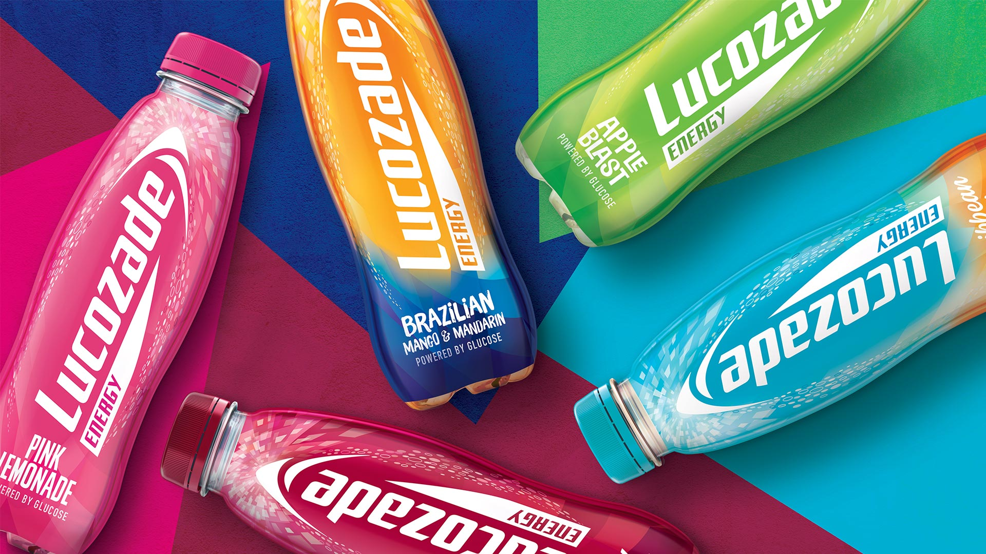 Lucozade Flavours - BrandMe