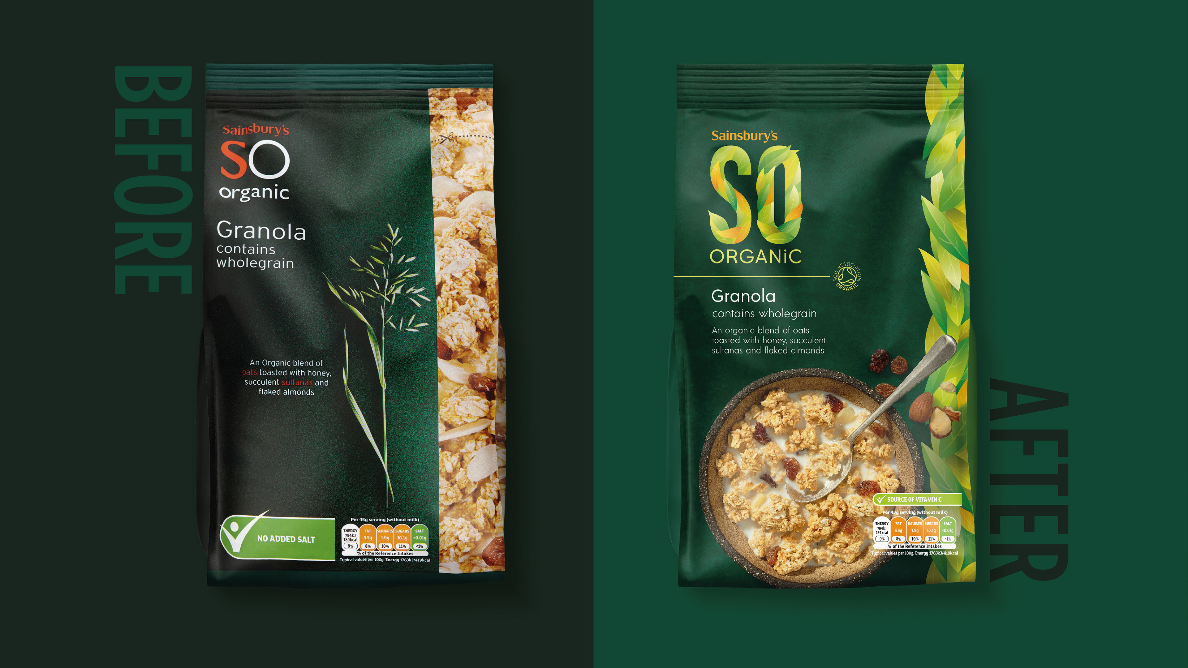 SO Organic Redesign - BrandMe