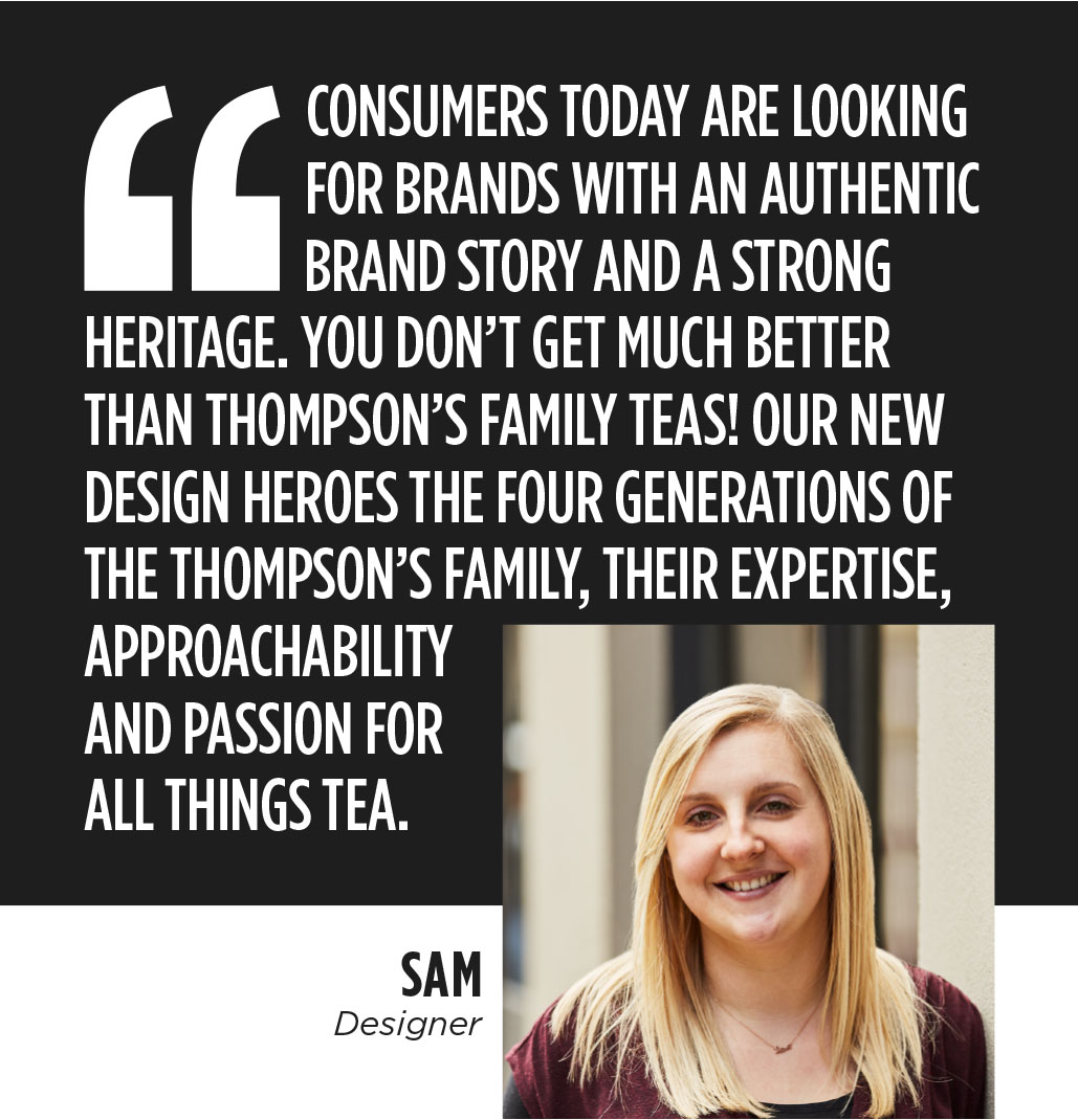 Thompson's Tea - BrandMe
